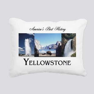 Yellowstone Rectangular Canvas Pillow